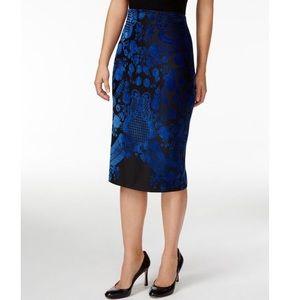 ECI New York NWT Velvet Skirt